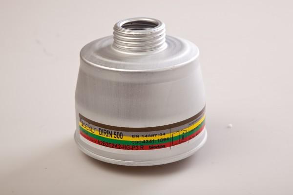 Mehrbereichs-Kombifilter DIRIN 500 A2 B2 E2 K2 Hg-P3R D