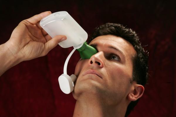Augenspülflasche MINI-ECO mit Trichter, FD