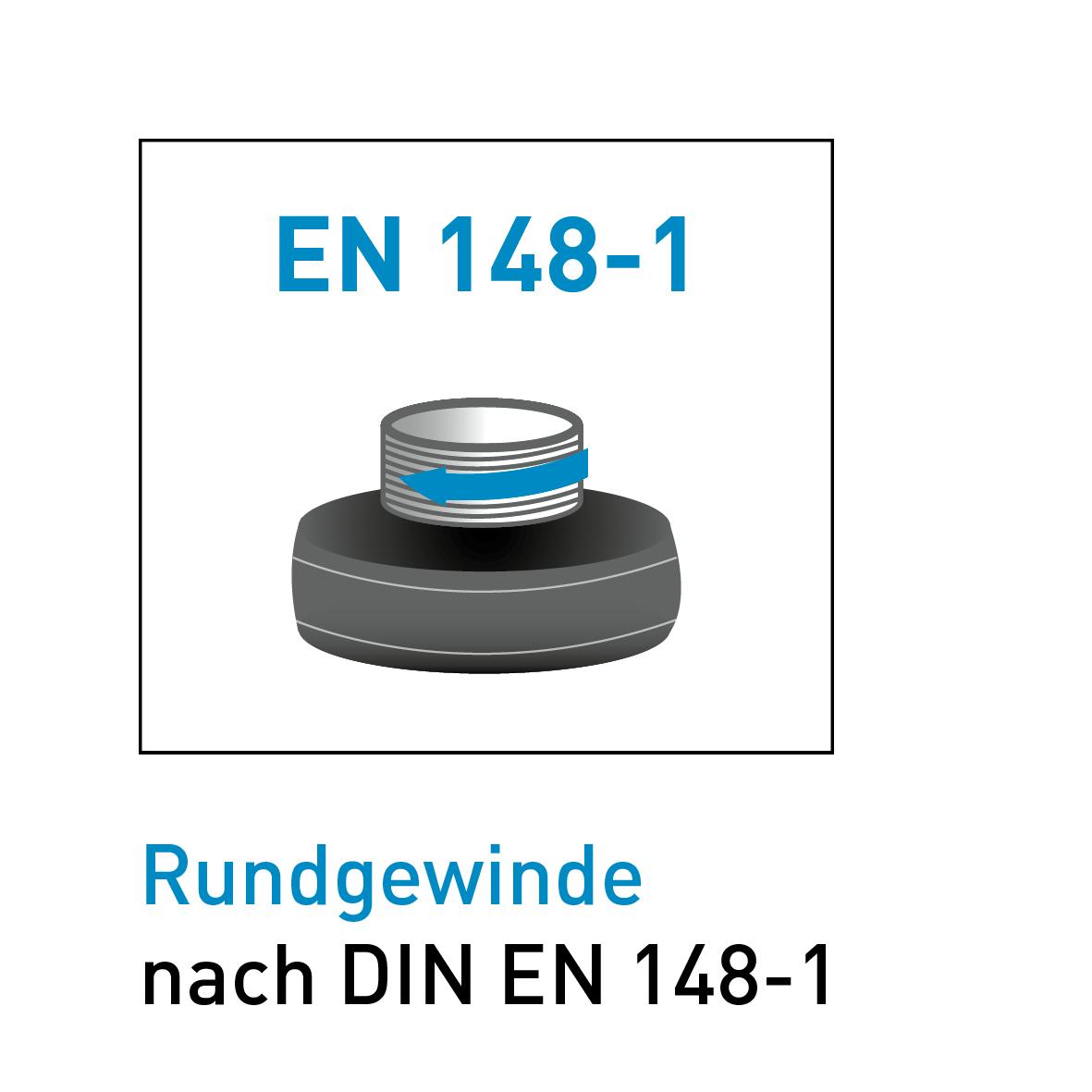 Rundgewinde deutsch