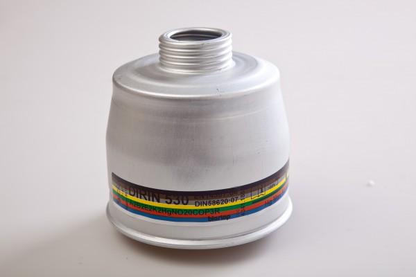 Mehrbereichs-Kombifilter DIRIN 530 A2 B2 E2 K2 Hg NO 20CO-P3R D