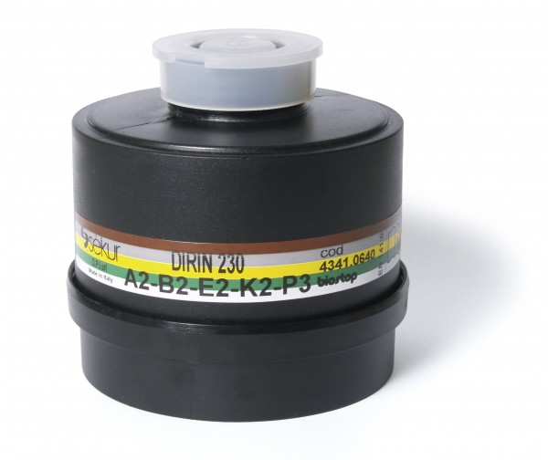 Mehrbereichs-Kombifilter DIRIN 230 A2 B2 E2 K2-P3R D