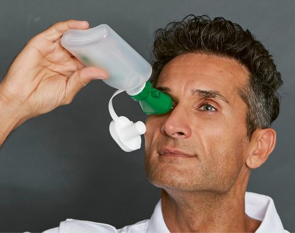 EKASTU-Augenspülflasche MINI mit Trichter, FD